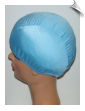 Extra Large Ice Blue Lycra Swim Cap (XL) (SKU: 1004-XL)