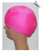 Hot Pink Lycra Swim Cap