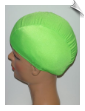 Extra Large Neon Green Lycra Swim Cap (XL) (SKU: 1014-XL)
