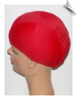 Extra Extra Large Red Devil Lycra Swim Cap (XXL) (SKU: 1012-XXL)