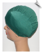 Hunter Green Lycra Swim Cap