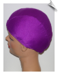 Extra Large Plum Lycra Swim Cap (XL) (SKU: 1024-XL)