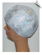 Cracked Ice Lycra Swim Cap (SKU: 1126)