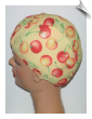 Extra Large Cherries Lycra Swim Cap (XL) (SKU: 1115-XL)