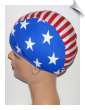 American Flag Swim Caps