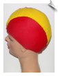 Kids International Color Lycra Swim Cap (SKU: 1601)