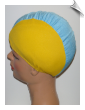 Kids Multicolor Lycra Swim Cap (SKU: 1600)