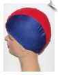 Kids Multicolor Lycra Swim Cap (SKU: 1610)