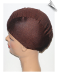 Chocolate Brown Lycra Swim Cap (SKU: 1058)