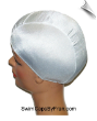 XXX Large White Lycra Swim Cap (SKU: 1002-XXXL)