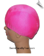Kids Hot Pink Lycra Swim Cap (SKU: 1003-K)