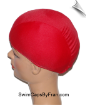 XXX Large Red Lycra Swim Cap (SKU: 1012-XXXL)