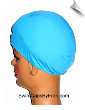 XXX Large Robins Egg Blue Lycra Swim Cap (SKU: 1020-XXXL)