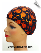 Pumpkins In The Night Kids Lycra Swim Cap (SKU: 1132-K)