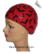 Bat Frenzy Lycra Swim Cap (SKU: 1133)