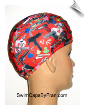 Guns & Gambling Print Lycra Swim Cap (SKU: 1313)
