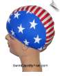 XXX Large Go USA Lycra Swim Cap (SKU: 1503-XXXL)