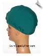 Lycra Unisex Sleep Cap/Head Warmer - Green (SKU: 6003)