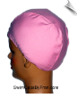 Pink Cotton Lycra Head Cover (SKU: 6004)